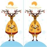 Vind de tien verschillen Royalty-vrije Stock Afbeeldingen