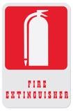 Vind een brandblusapparaat Stock Afbeeldingen