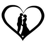 Vind liefde Stock Illustratie