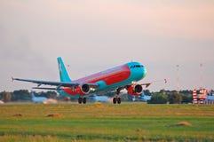 Vind Rose Aviation Airbus A330 Arkivfoto