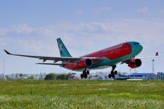 Vind Rose Aviation Airbus A330 Fotografering för Bildbyråer