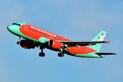 Vind Rose Aviation Airbus A320 Arkivbilder