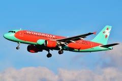 Vind Rose Aviation Airbus A320 Arkivfoton