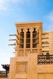 Vind står högt Dubai, UAE Arkivfoto