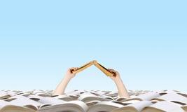 Vind uw boek Stock Foto's
