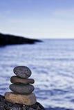 Vind uw Zen Royalty-vrije Stock Foto