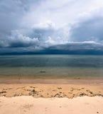 Vinda da tempestade Imagem de Stock Royalty Free