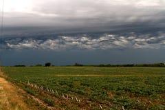Vinda das tempestades do verão Imagem de Stock Royalty Free