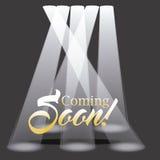 Vinda logo projeto Foto de Stock Royalty Free