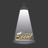 Vinda logo projeto Imagens de Stock