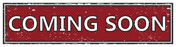 Vinda selo logo quadrado do grunge Imagem de Stock