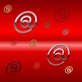 Vinda @ você Imagem de Stock