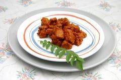 vindaloo цыпленка Стоковая Фотография