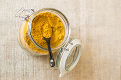Vindaloo in jar Royalty Free Stock Image