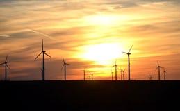Vindkraft Arkivfoton