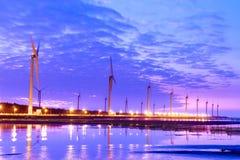 Vindkraftstation Royaltyfria Bilder