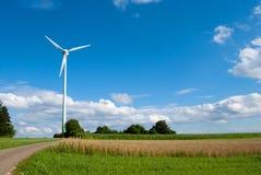 Vindkraftturbin Arkivbilder