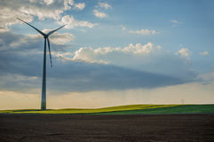 vindkraftväxt 01 Fotografering för Bildbyråer