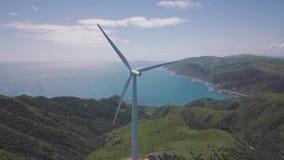 Vindlantgård på sjösidaklippan, längd i fot räknat för antenn 4k lager videofilmer