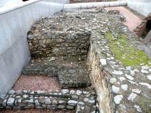 Vindolanda废墟,在维也纳的中心 库存图片