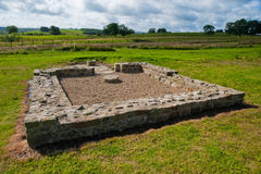 Vindolanda ruins Royalty Free Stock Images