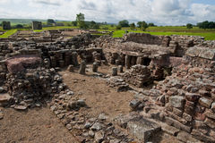 Vindolanda ruins Royalty Free Stock Photo