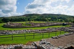 Vindolanda ruins Stock Images