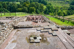 Vindolanda ruins Stock Photography