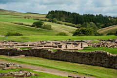 Vindolanda ruins Royalty Free Stock Photography