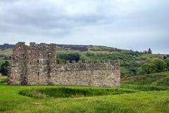 Vindolanda ruins, Hexham, Northumbria, England. Stock Image