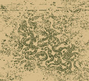 Vine art pattern grunge style Stock Images