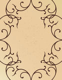 Vine border Stock Image