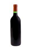 Vine bottle. Isolated on white Stock Image