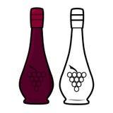 Vine Bottle Royalty Free Stock Images