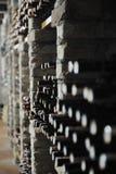 Vine Bottles Stock Photo