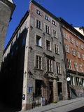 Vine building in Stockholm. A picturesque building in the Old Town area of Stockholm royalty free stock photography