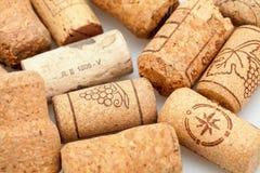 Vine corks Stock Image