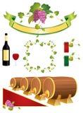 Vine elements Stock Photo