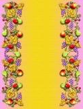vine för kantfruktveggie royaltyfri illustrationer