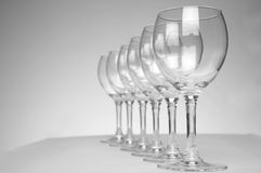 Vine Glass Stock Images