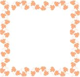 Vine-leaf frame Stock Image