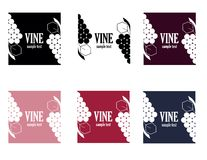 Vine logo Royalty Free Stock Photos