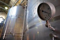 Vine metal tank Stock Images