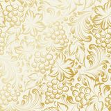 Vine seamless background Royalty Free Stock Images