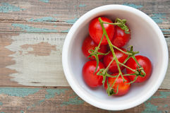 Vine Tomatoes Royalty Free Stock Images