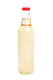 Vinegar bottles isolation on white background Stock Photos