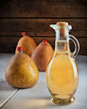 Vinegar of pears Royalty Free Stock Photo
