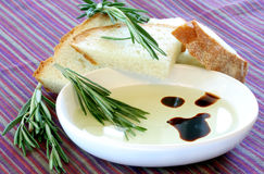 Vinegrette Bread Dip Stock Images