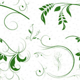 Vines Seamless Pattern Stock Photography