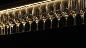 Vinexponeringsglas Arkivbilder